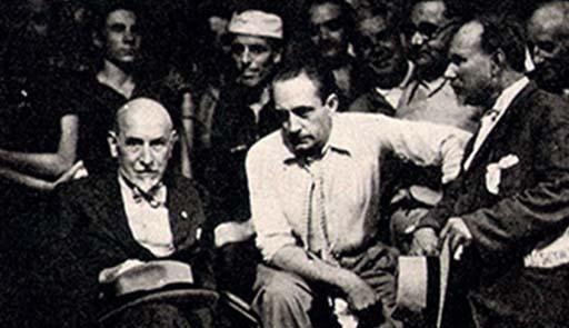 Foto di Pirandello con attori
