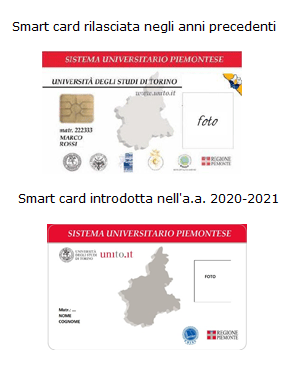 Smart card studenti Università di Torino