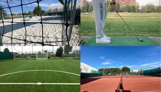 4 immagini di campi CUS