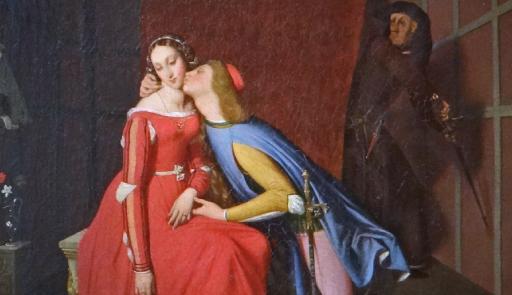Paolo et Francesca (musée des beaux-arts, Angers)