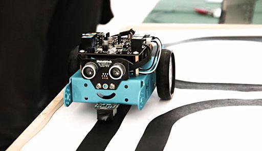 Piccolo robot meccanico