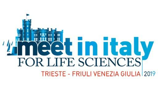 Logo dell'evento Meet in Italy for Life Sciences 2019