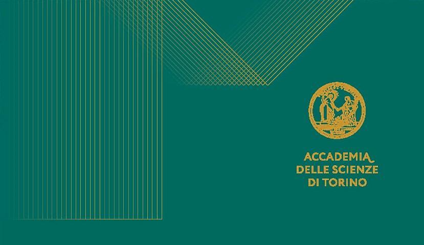 Logo dell'Accademia delle Scienze su sfondo verde