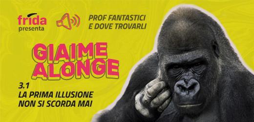 Foto di un gorilla che si gratta il muso