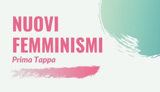 Grafica evento Cirsde Nuovi Femminismi