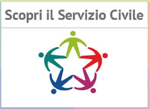 Logo del servizio civile 2019