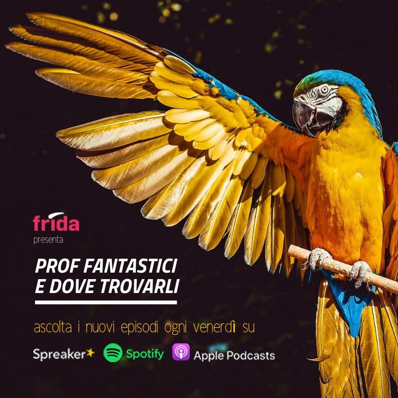 Grafica del format Prof Fantastici - seconda stagione