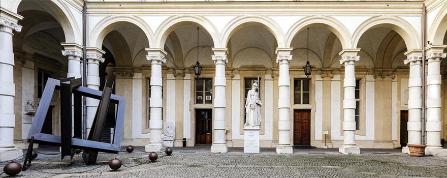 Loggiato, statua Minerva