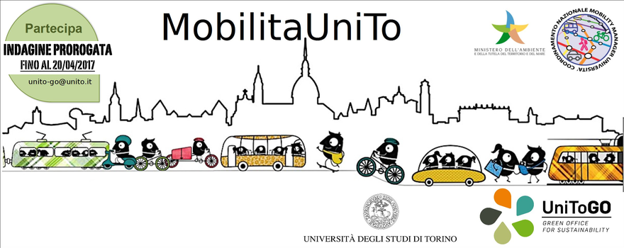 Immagine proroga indagine mobilità UniTO