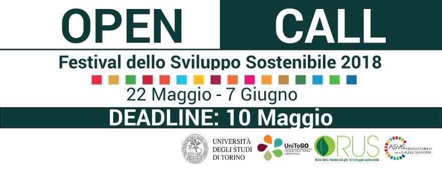 Open Call UnitoGo per il Festival dello Sviluppo Sostenibile