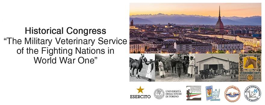 congresso The Military Veterinary Services of the Fighting Nations in World War One