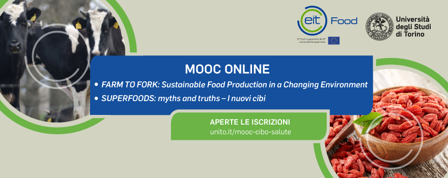MOOC Farm to Fork e Superfoods