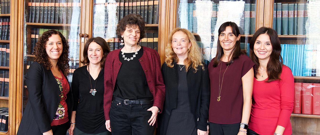 La Prof. Bordiga e il suo team