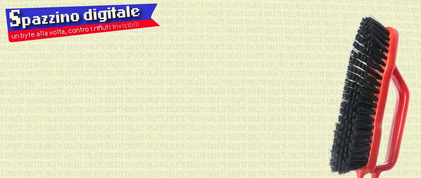 Logo spazzino digitale